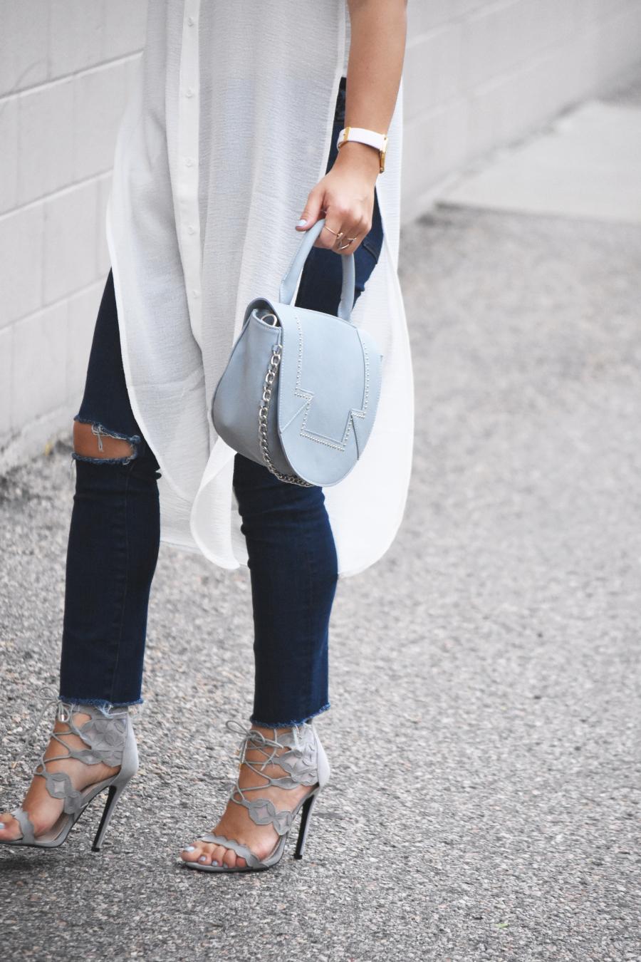 Public Desire grey sandals