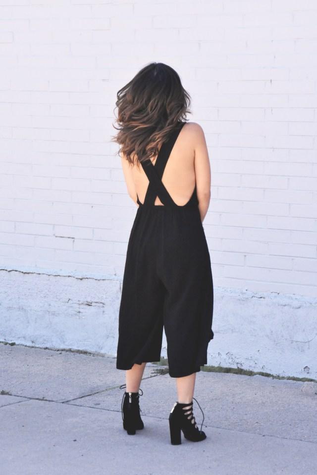 Tobi black jumpsuit-ootd