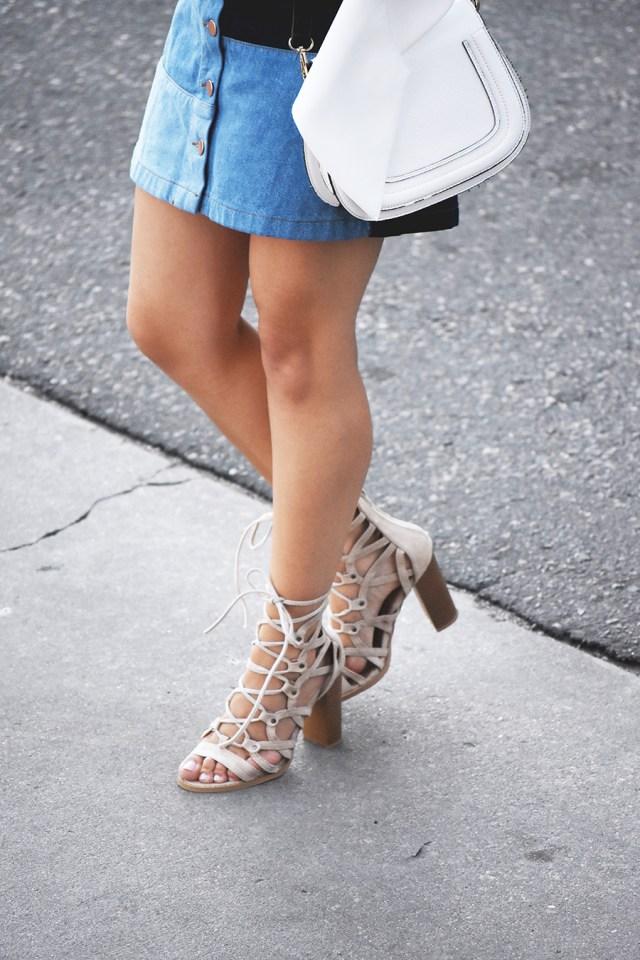 Lasula lace up sandals