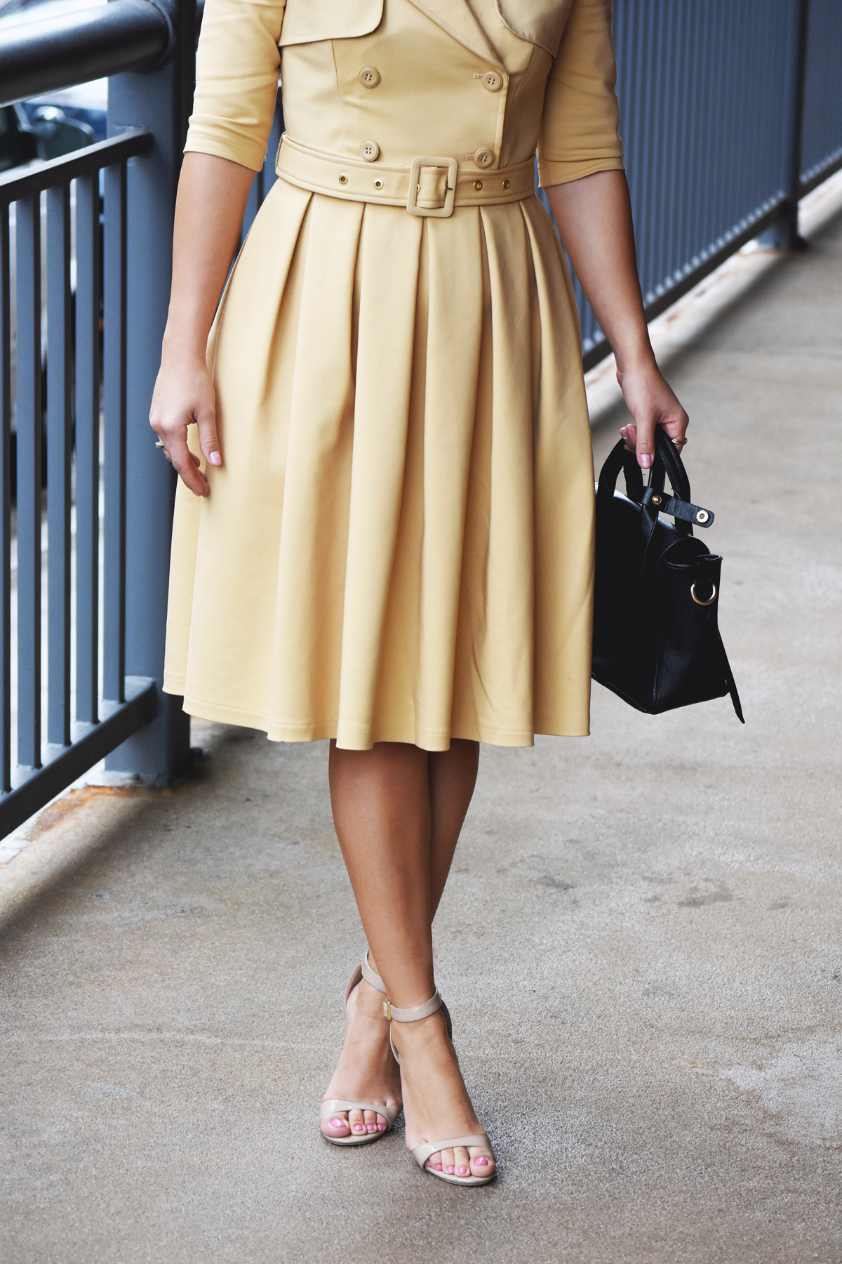 Chicwish dress and steve madden strap sandals