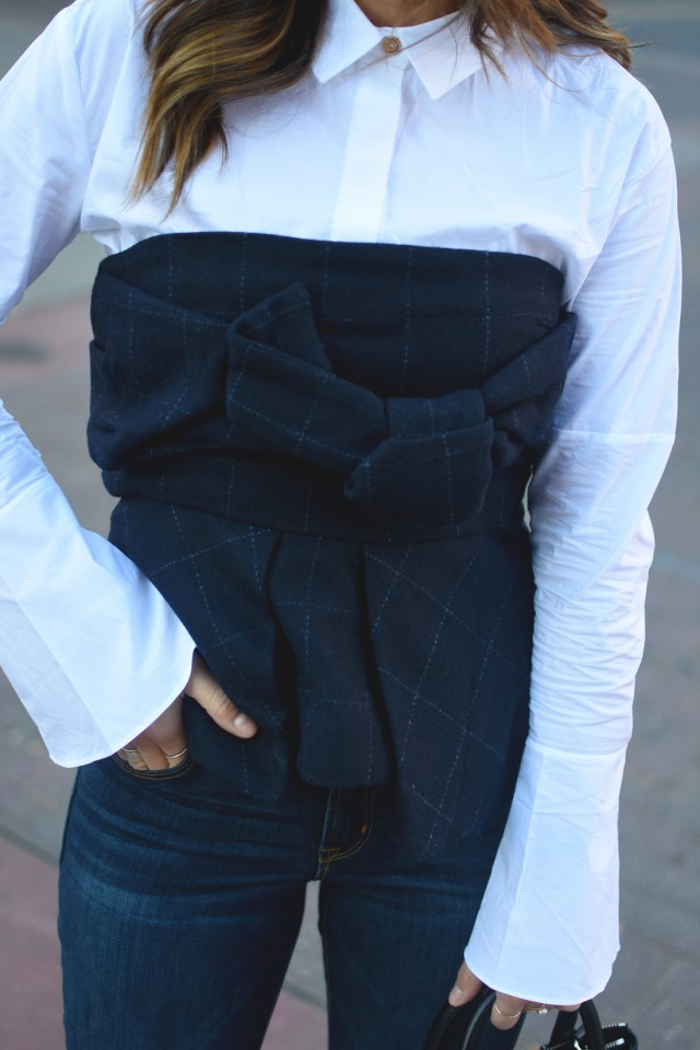 strapples-top-and-white-button-down