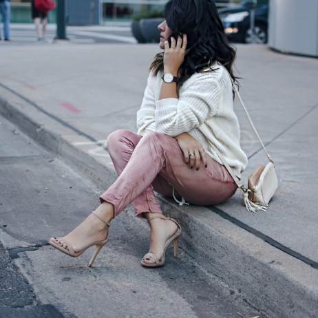 THE ULTIMATE LACE UP SWEATER