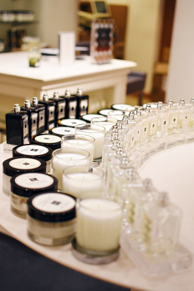 Neiman Marcus candles