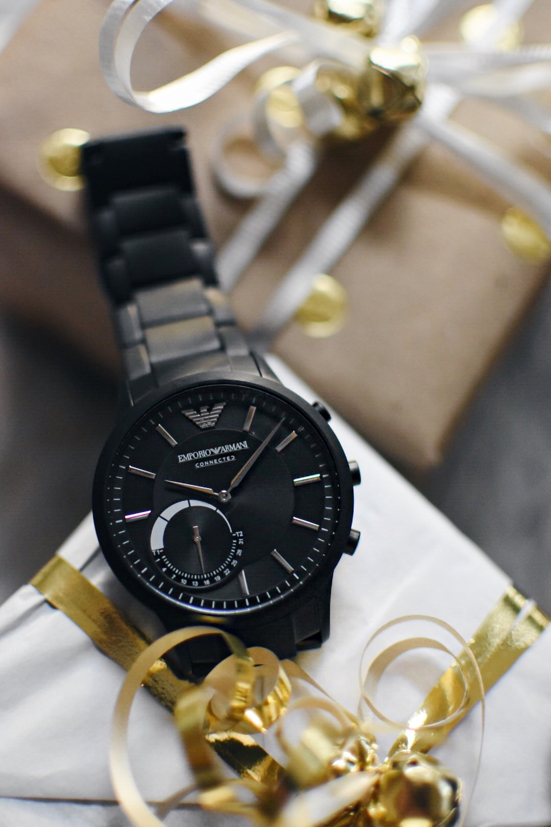 Emporio Armani hybrid watch