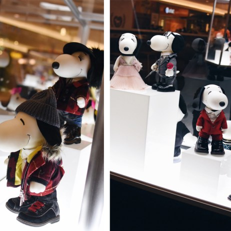 SNOOPY & BELLE IN FASHION EXHIBITION