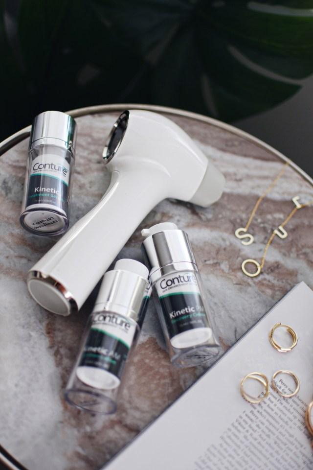 Conture skin toning system