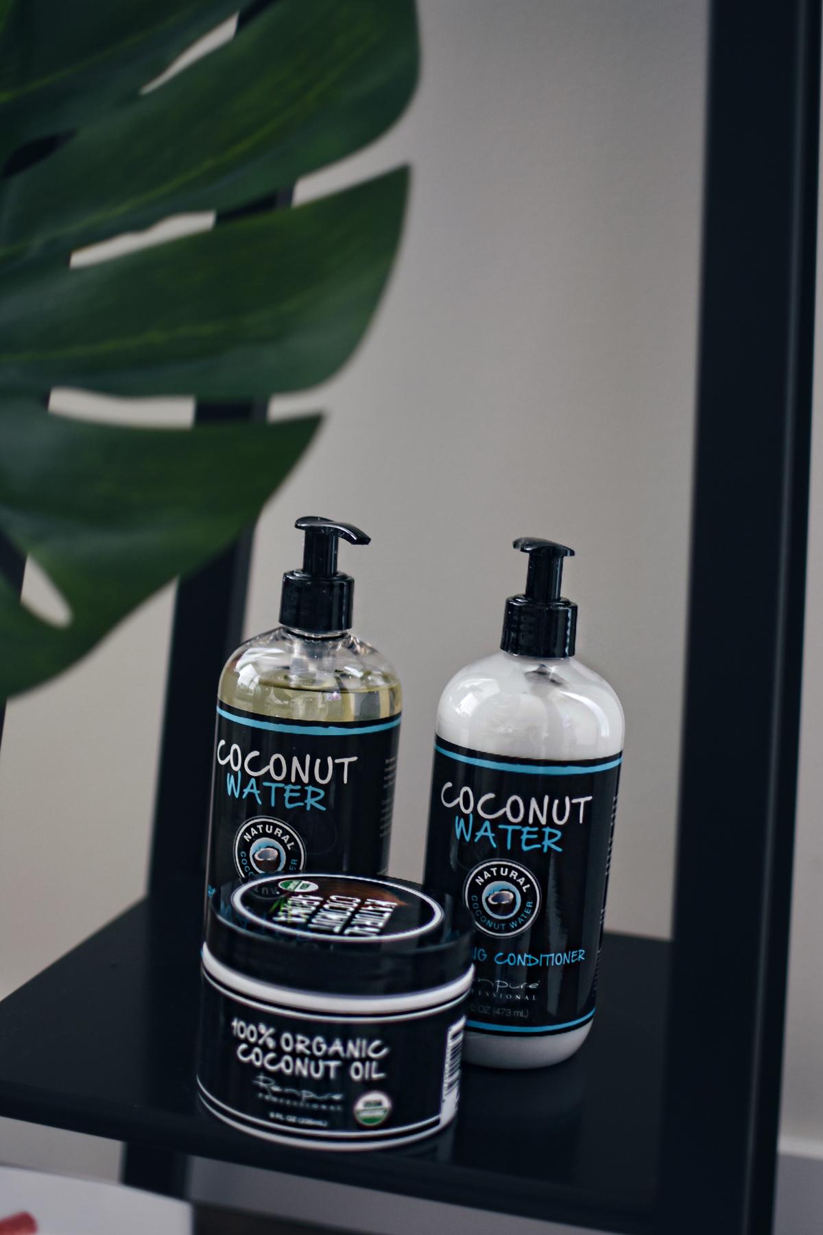 Renpure coconut oil treatment