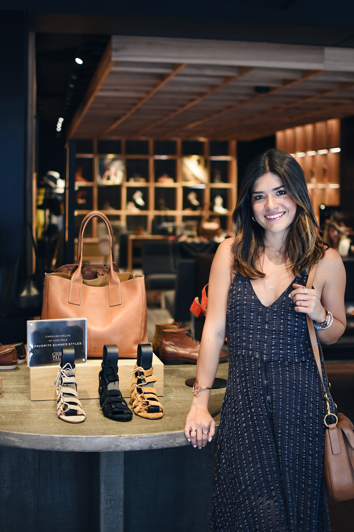 SUMMER STYLING EVENT WITH THE FRYE COMPANY