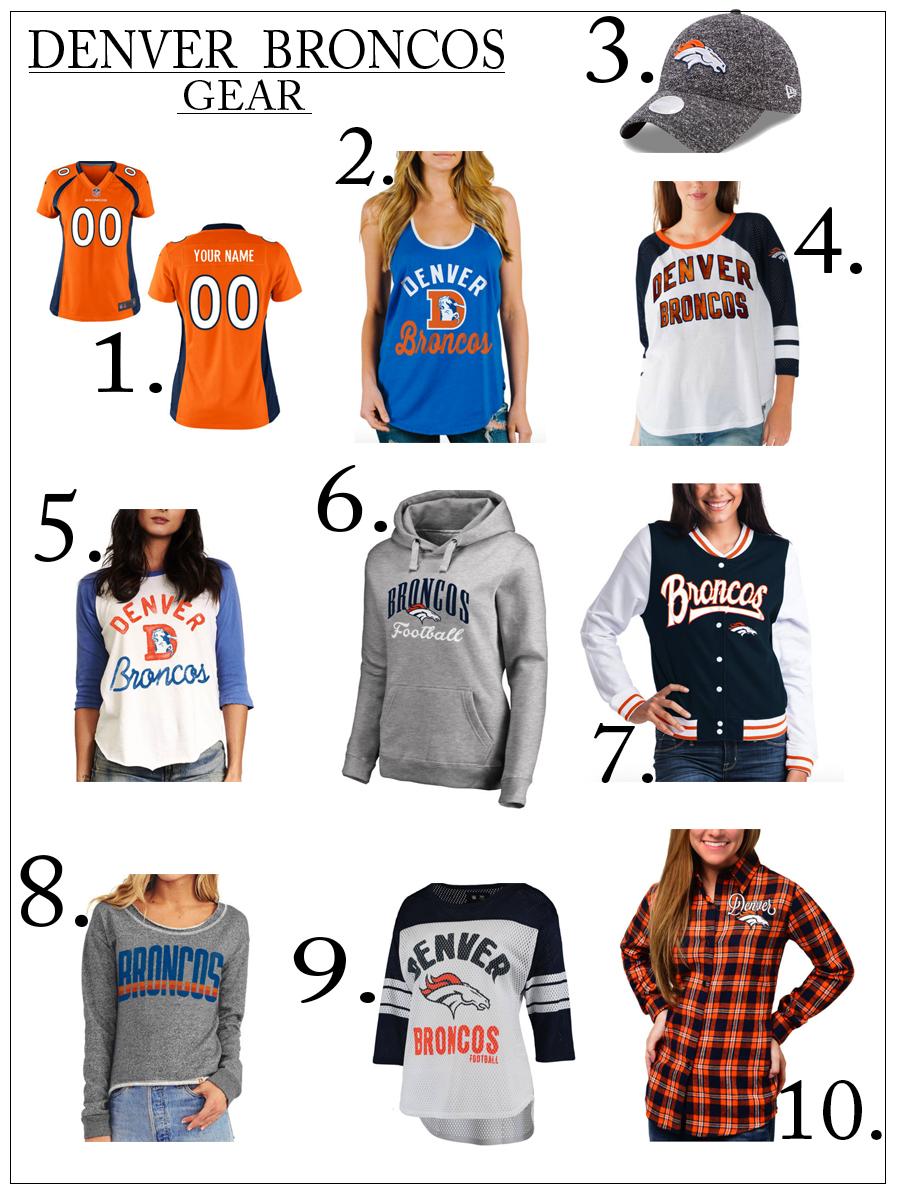 Denver Broncos gear favorites
