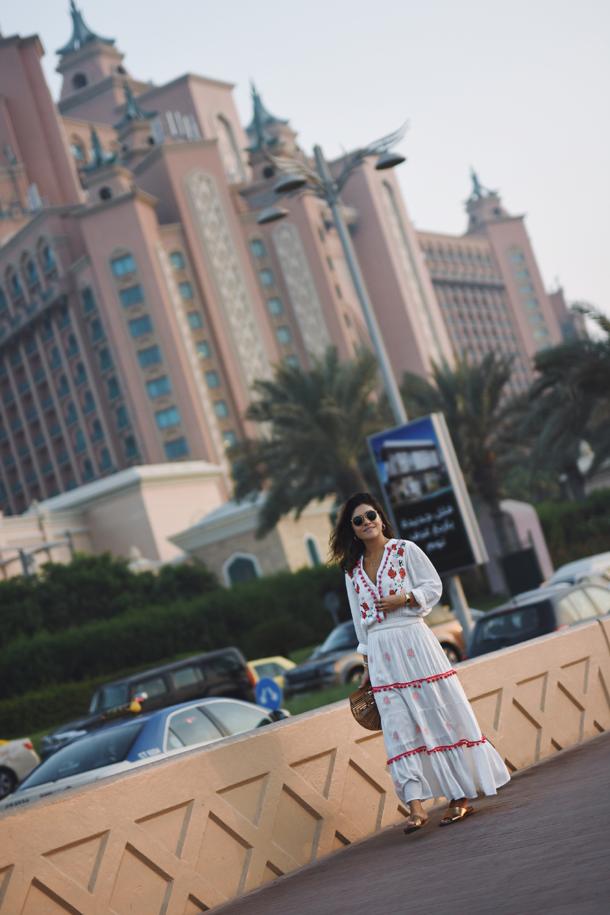 Carolina Hellal of Chic Talk wearing Chicwish in Dubai