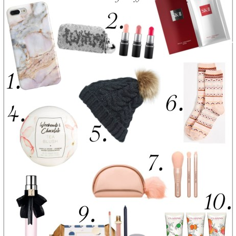 HOLIDAY GUIDE 2017: STOCKING STUFFERS