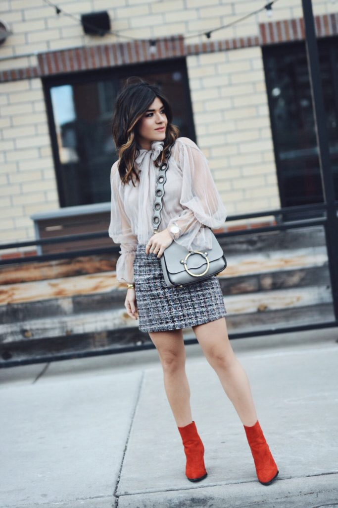 CHICWISH TULLE TOP by popular Denver fashion blogger Chic Talk