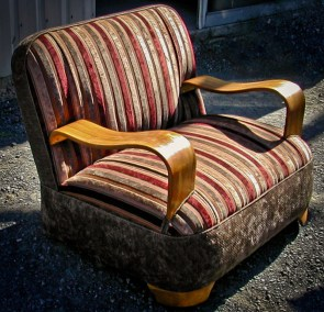 Retro Art Deco Arm Chair