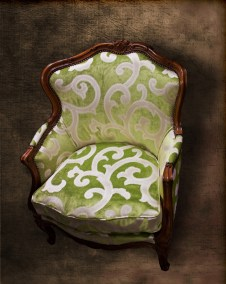 Lime Antique Chair