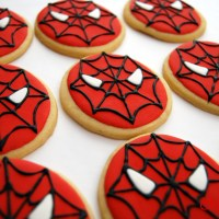 Spiderman, la galleta decorada