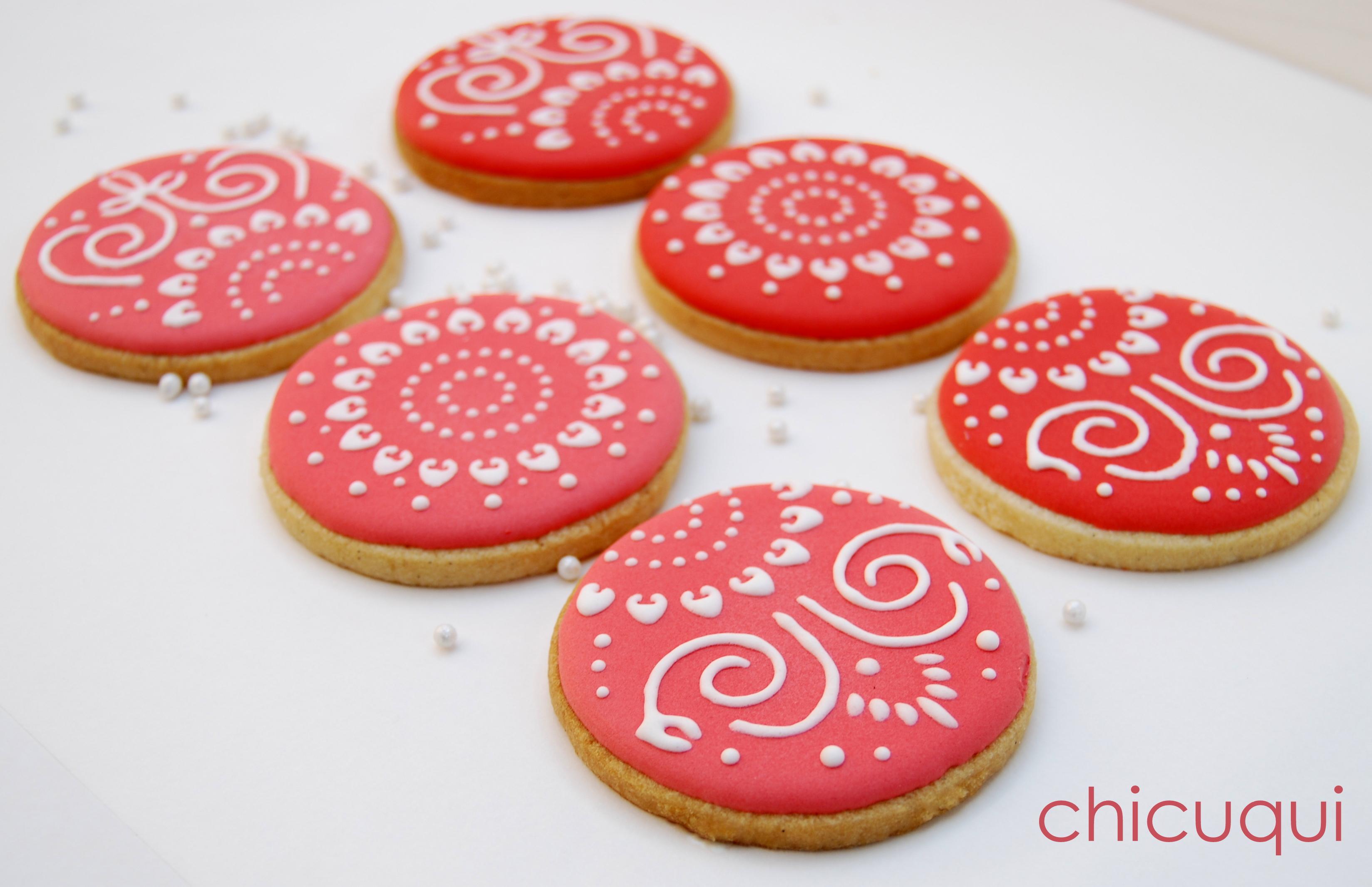 Galletas Decoradas Con Stencils Para Tartas Chicuqui
