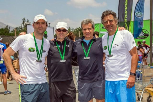 17-Foto 9 Gonzalo Rodriguez, Alberto Claro, Claudio Melisenda, Vicente Claro