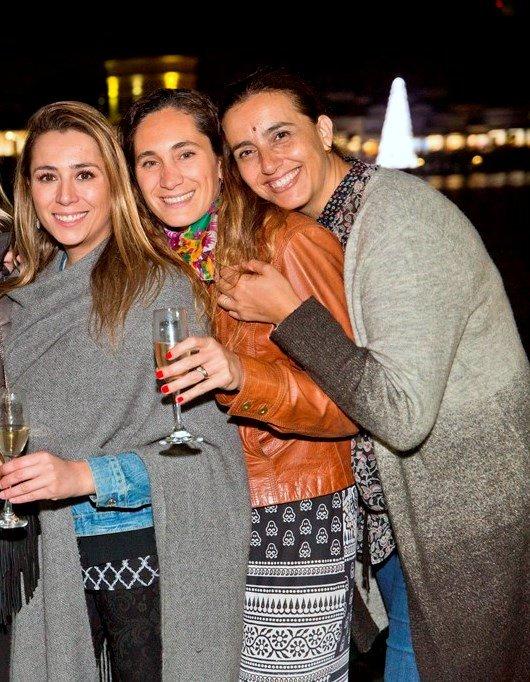 Kata San Juan, Elisa Delgado y Paula García