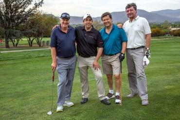 Gert Schön, Francisco Cerda, Gerardo Koster y Gustavo Greene