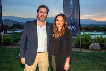 Rubén Céspedes y Renate Sanz