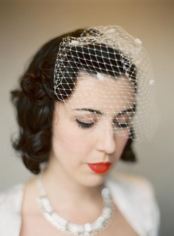 Wedding Wisdom Choosing The Perfect Birdcage Veil By