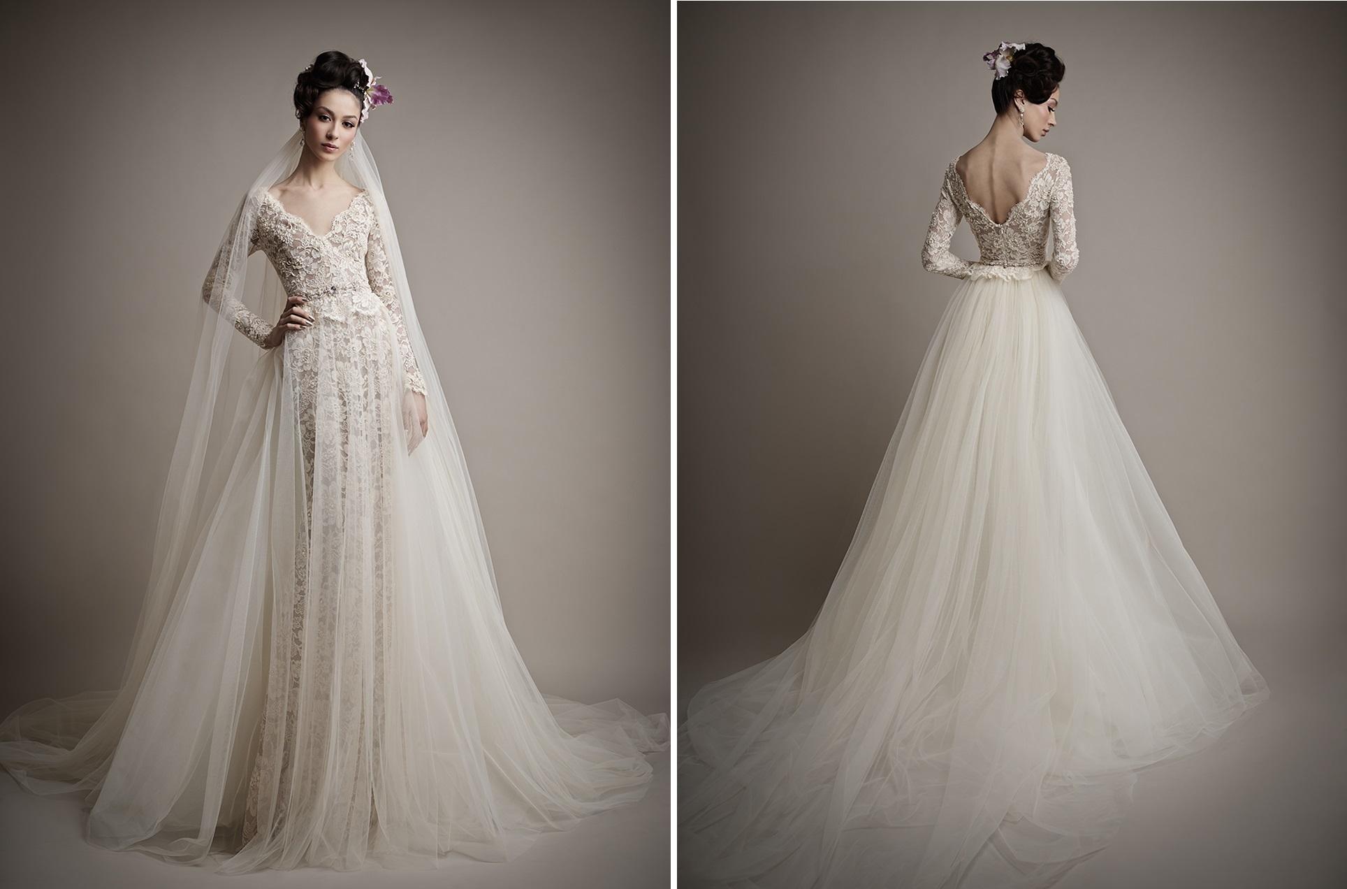 Glamorous & Elegant Wedding Dresses From Ersa Atelier