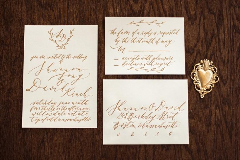 Gold Calligraphy Wedding Invites Romantic Al Fresco Ideas Inspired By Tuscany