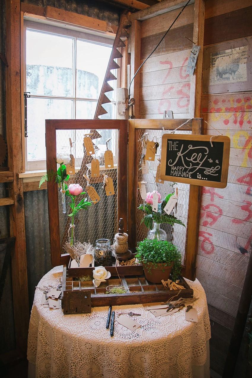 Rustic Wedding Guest Book Chic Vintage Brides Chic