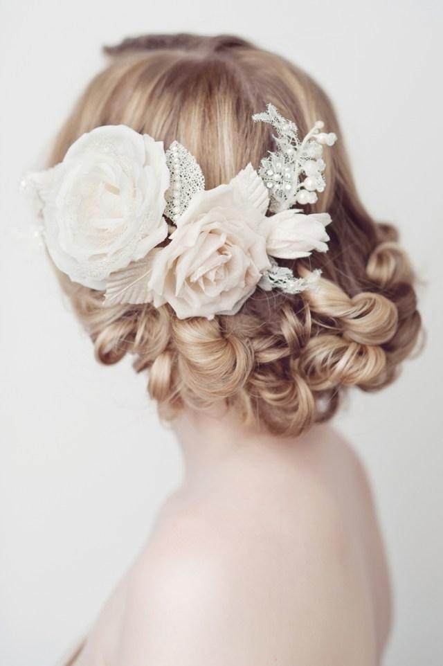 rosalie' bridal hair comb - chic vintage brides : chic