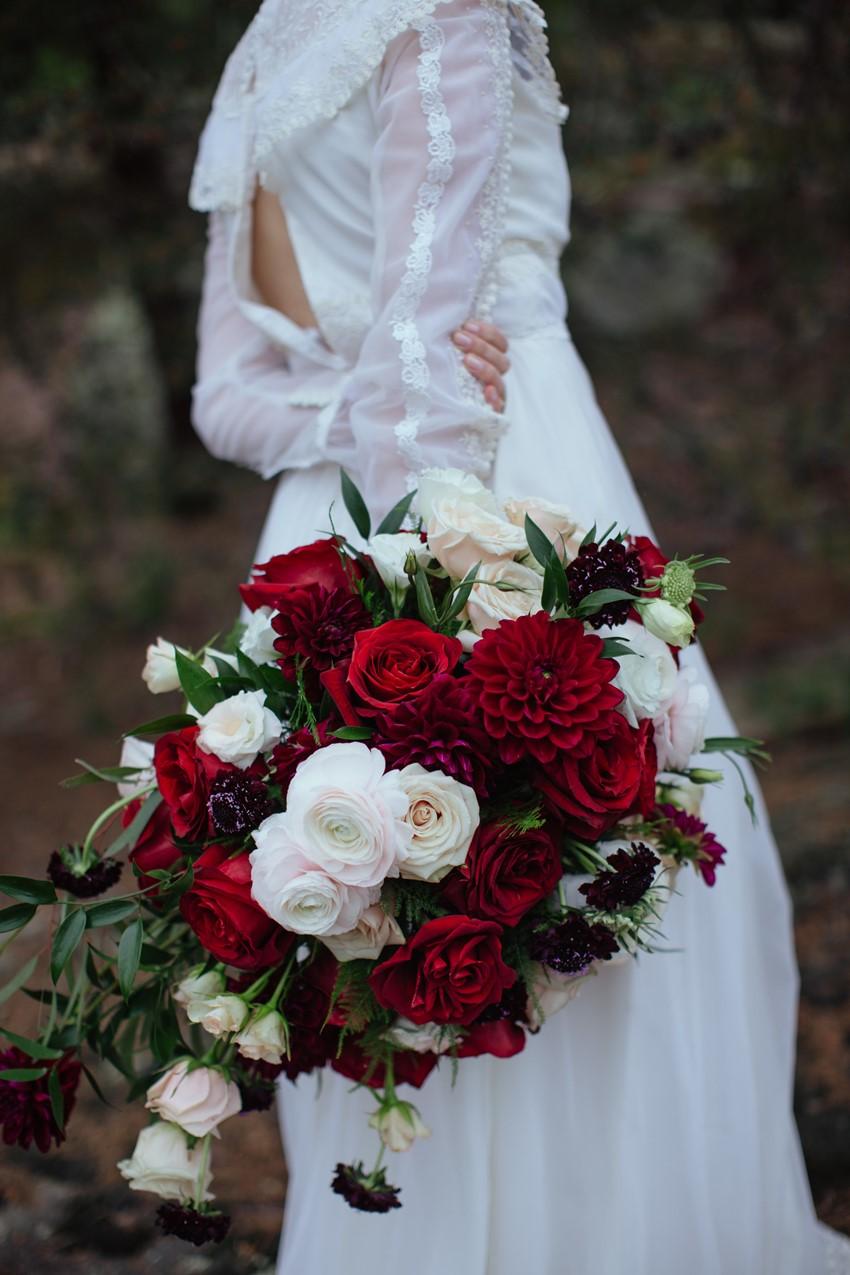 Riverside Wedding Inspiration With Gothic Romance Chic