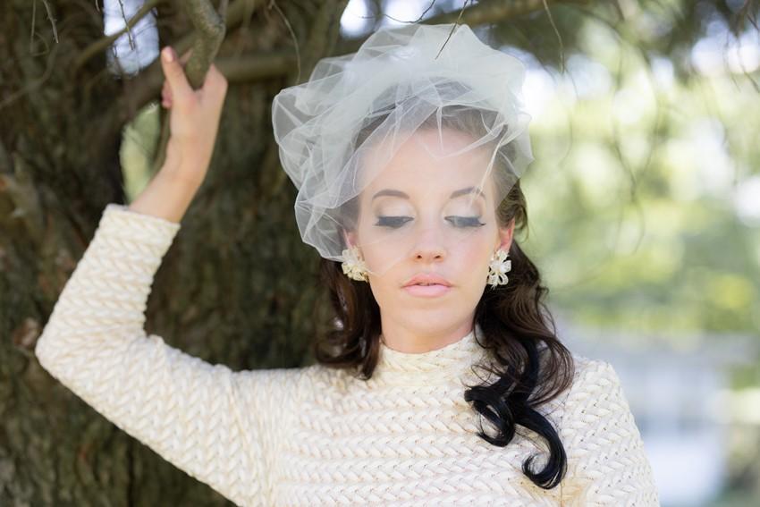 1960s Inspired Bride