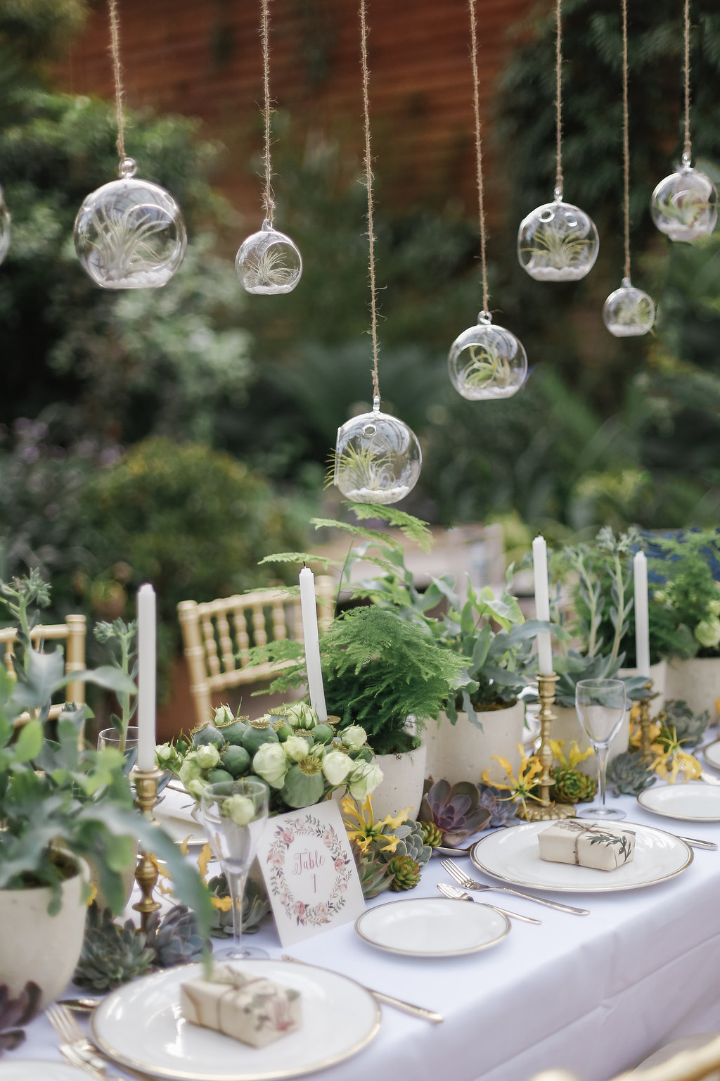 18 Rustic Greenery Wedding Table Decorations You Will Love ...