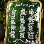 38 Brilliant Wedding Seating Chart Ideas To Steal Chicwedd