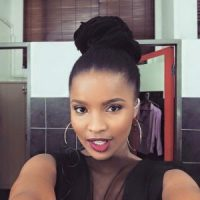 South African Female Star Oozing Natural Beauty and Makeup Perfection