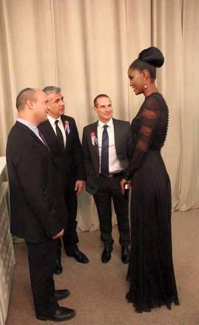 Miss Jerusalem, Israel - A tall and elegant black woman