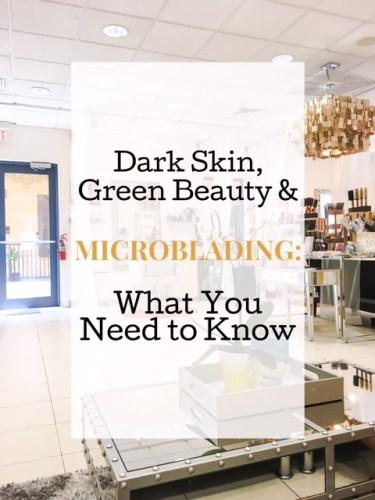 Microblading African American Skin • chidibeauty.com