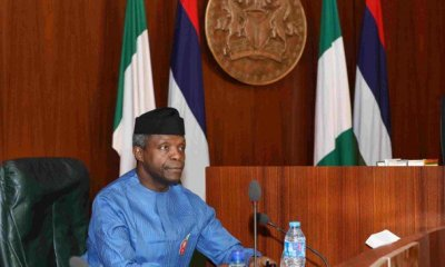 It will be suicidal to threaten Saraki, Dogara – Osinbajo