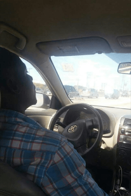 Driver destroys female passenger's phone and attempts to assault her physically