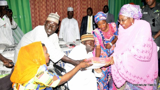 Buhari's wife, Aisha, speaks on husband's driving force