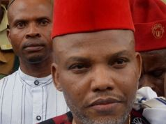 """We are not afraid in our quest.."" Kanu tells South East senators"