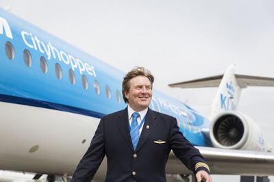 King of Netherlands Reveals He Is A Pilot With KLM
