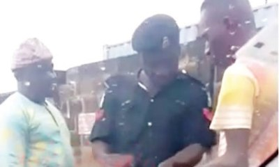 Policeman allegedly caught extorting money with POS