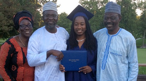 Wow! Two Chibok Girls Who Escaped From Boko Haram Graduate in US
