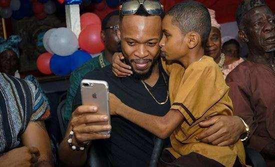 Emotional Thrilling Song by Flavour featuring Liberian blind boy Sameh - Most High