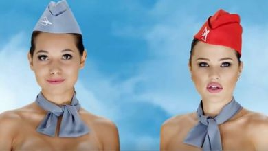 Bizarre Advert Hostesses