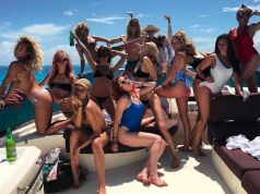 Super Model Cara Delevingne celebrates 25th birthday on star-studded £100k Mexico getaway