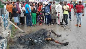 Mob Sets Man Ablaze Over N45k Mobile Phone