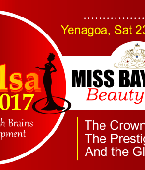 Miss Bayelsa 2017 Beauty Pageant is here again with an exciting features and activities from pre-camp to final stage. It is going be awesome