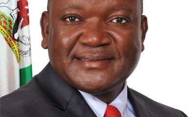Samuel Ortom of PDP declared winner of Benue governorship election