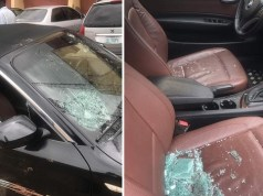 Hoodlums Attack Charly Boy's Car At Wuse Market, Abuja